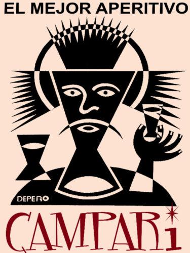 "Art.Bedroom  Decor.19 Italian Vintage Decoration /& Design Poster/""Campari/"" Wine"