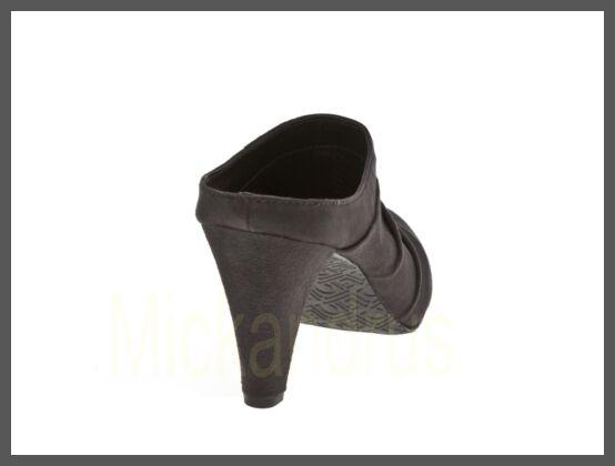 NIB Liz Dark Claiborne Crandell Suede Mule Dark Liz Braun Größe 7,5 M d767c3