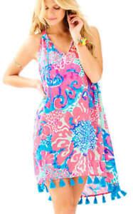 9cc8744c3532 Lilly Pulitzer Roxi Dress, I'm So Jelly, Coral Reef, Small, NWT ...