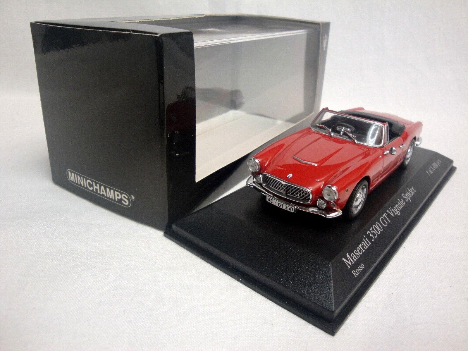 1/43 MINICHAMPS 400123231 MASERATI 3500 GT VIGNALE SPIDER
