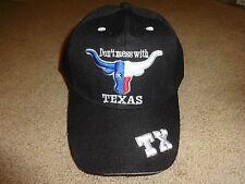 Dont Mess With Texas Long Horn Baseball Cap