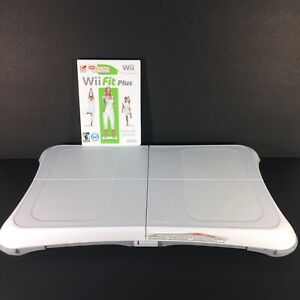 Nintendo-Wii-Fit-Plus-amp-Wii-Balance-Board-Bundle-TESTED-amp-WORKING