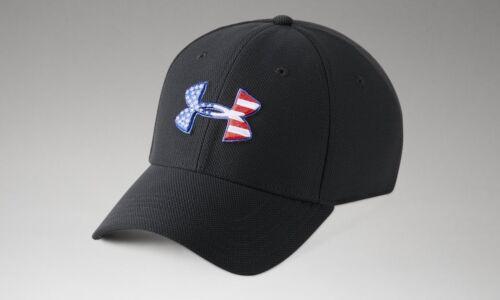 Under Armour Men/'s UA Freedom Blitzing Stretch Fit Cap Flex Hat USA Cap