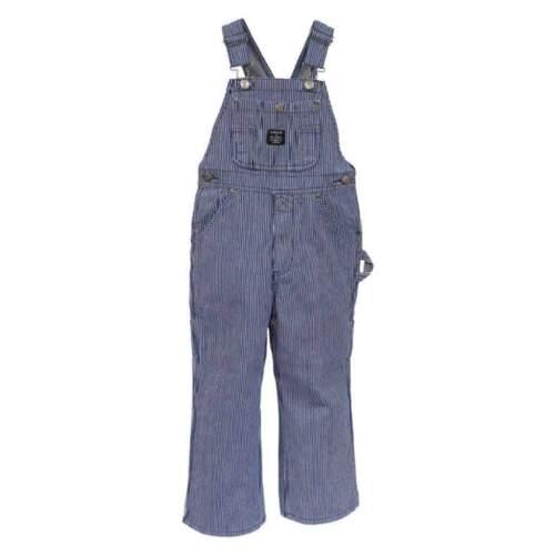 Key Little Boys or Little Girls Hickory Stripe Bib Overall
