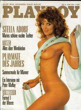 PLAYBOY 1987/06 [Juni 6/87] * Stella Kobs *Alexandra Böhland* Stella Adorf * TOP