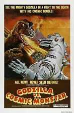 Godzilla Vs Mechagodzilla Poster 01 A3 Box Canvas Print