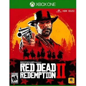Red Dead Redemption 2 Xbox One - Xbox One exclusive - ESRB Rated M 17+ - Actio