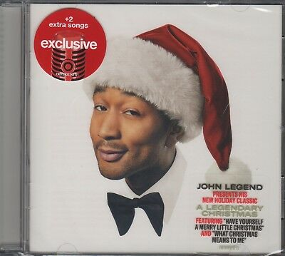 "John Legend ""A Legendary Christmas"" CD TARGET Exclusive +2 BONUS SONGS (SEALED)   eBay"