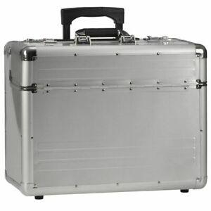 Alumaxx-Piloten-Business-Akten-Trolley-Alu-Koffer-OMEGA-Laptop-Notebook