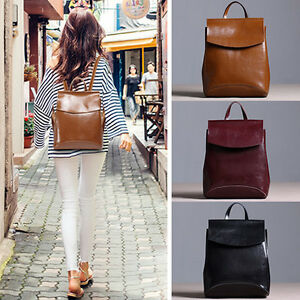 Convertible-Small-Real-Leather-Backpack-Crossbody-Shoulder-Bag-Purse-2-Sizes