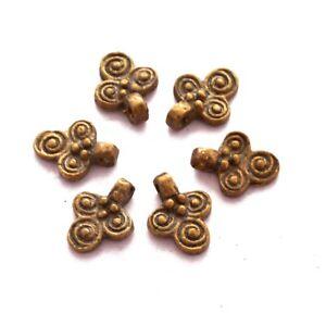Solid-Brass-6-Charms-Konyak-Naga-Ethnic-Tribal-Handmade-Nepal-India-CH646