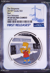 2019-The-Simpsons-BART-Simpson-Proof-1-1oz-Silver-COIN-NGC-PF-69-FR-PF69