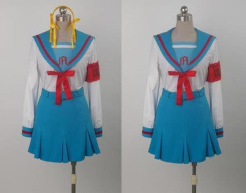 New Haruhi Suzumiya Suzumiya Haruhi Party Uniform Cosplay Costume Custom Made