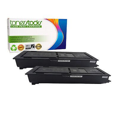 2PK TK-677 Black Toner Cartridge For Kyocera KM-2540 KM-2560 KM-3040 KM-3060