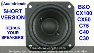 4x-Foam-surrounds-for-repair-Bang-amp-Olufsen-Beovox-C30-C40-CX50-C75-CX100