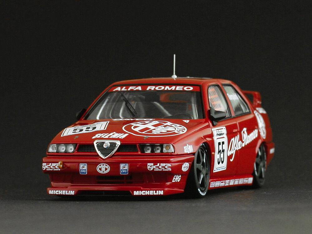 Alfa Romeo 155 TS  55 G.Tarquini   BTCC  1994 (1 43   8124)  nous prenons les clients comme notre dieu
