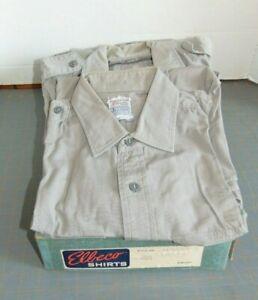 Elbeco-Uniform-Work-Shirts-Emergency-Police-Lot-of-3-Long-Sleeve-Short-Sleeve