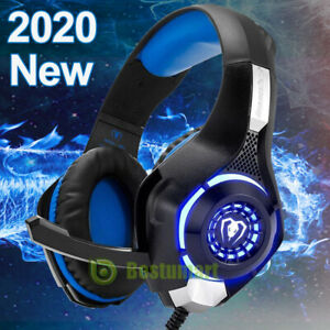 2020 Pro 3 5mm Gaming Headset W Mic Xbox One Wireless Ps4 Headphones Microphone Ebay