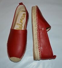 723b55febf65 item 1 NEW Sam Edelman Khloe  80 Red Leather Espadrille Women s Flat Shoe  Sz. 7.5 M -NEW Sam Edelman Khloe  80 Red Leather Espadrille Women s Flat  Shoe Sz. ...