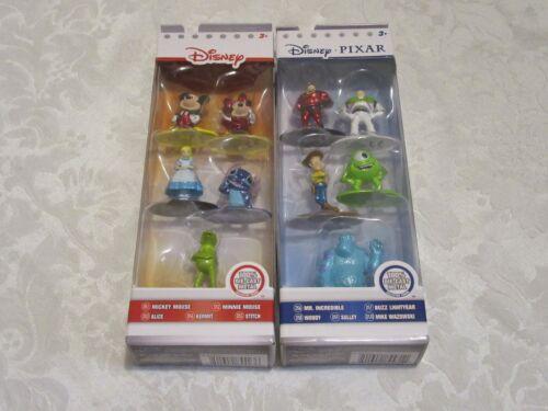 Jada Toys Nano Metalfigs Pack A /& B Disney Exclusive Lot of 2 Action Figure