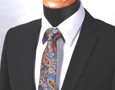 DQT Tissé Floral Motif Cachemire Ivoire Mariage classique pour homme Pre-Tied Bow Tie