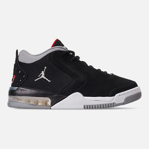 BV6273-001 Air Jordan Big Fund Basketball Black Silver-White-Red Sizes 8-13 NIB