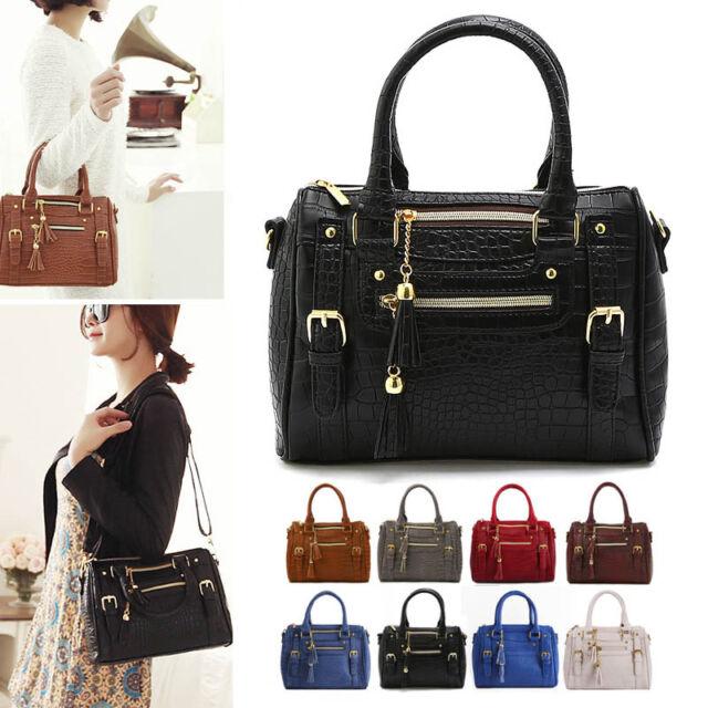 Women Lady Leather Shoulder Bag Tote Purse Handbag Messenger Crossbody Satchel