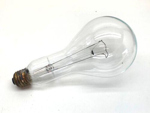 Sylvania 300PS25//CL 300W Incandescent Lamp Light Bulb 125-130V Med Base 6-Pack