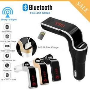 Handsfree-Bluetooth-For-Car-Kit-USB-Charger-FM-Transmitter-Radio-MP3-Player