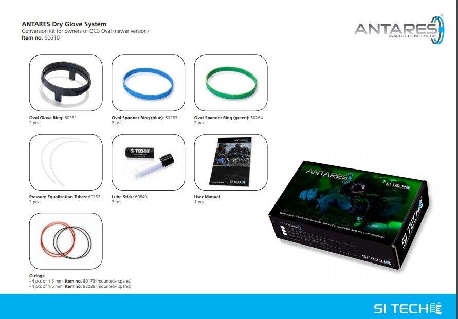 SI TECH TECH TECH Antares - Ovales Handschuh-Ringsystem 8f014f