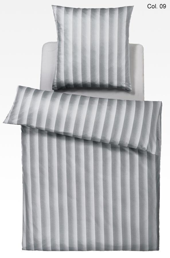 Joop  Seiden-Satin Bettwäsche Luxury Herringbone (4064), 135x200cm - Angebot