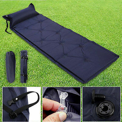 Self-Inflating Mattress Inflatable Air Mat Outdoor Bed Pillow Sleeping Pad