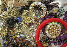Estate Vintage to Now Junk Drawer Lot Costume Jewelry #21
