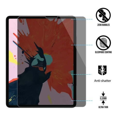 """Privacy Anti Spy Screen Protector for Apple iPad Pro 11/"""" 2018 Tempered Glass"""