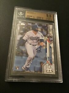 2020 Topps #292 Gavin Lux RC BGS 9.5 Gem Mint w/10 surface Los Angeles Dodgers