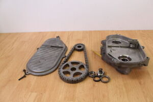 2002-SKI-DOO-SUMMIT-ZX-800-Chain-Case-With-Cover-amp-Sprockets-19-43-gears