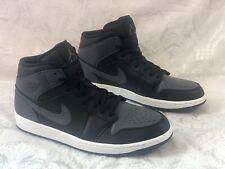 new styles c8627 5073a item 4 New Men s Size 14 Nike Air Jordan 1 Mid Black Dark Grey White 554724- 041 -New Men s Size 14 Nike Air Jordan 1 Mid Black Dark Grey White 554724- 041