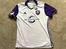 NEW Adidas MLS Men Orlando City SC Climalite Soccer Football Jersey NWT XL