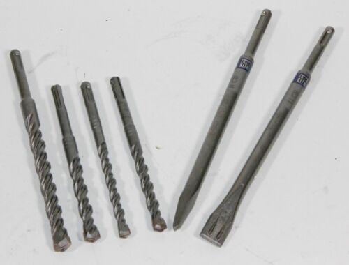 5 longue durée marteau perceuse//plat-pointu burins 6 pièces set Bosch sds-plus