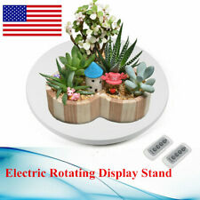 360 Remote 3 Speed Electric Motorized Rotating Turntable Display Stand Platform