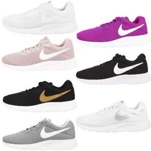 reputable site 75f01 461bd Chargement de l image en cours Nike-Tanjun-Chaussures-pour -Femme-Dames-Loisirs-Espadrille-