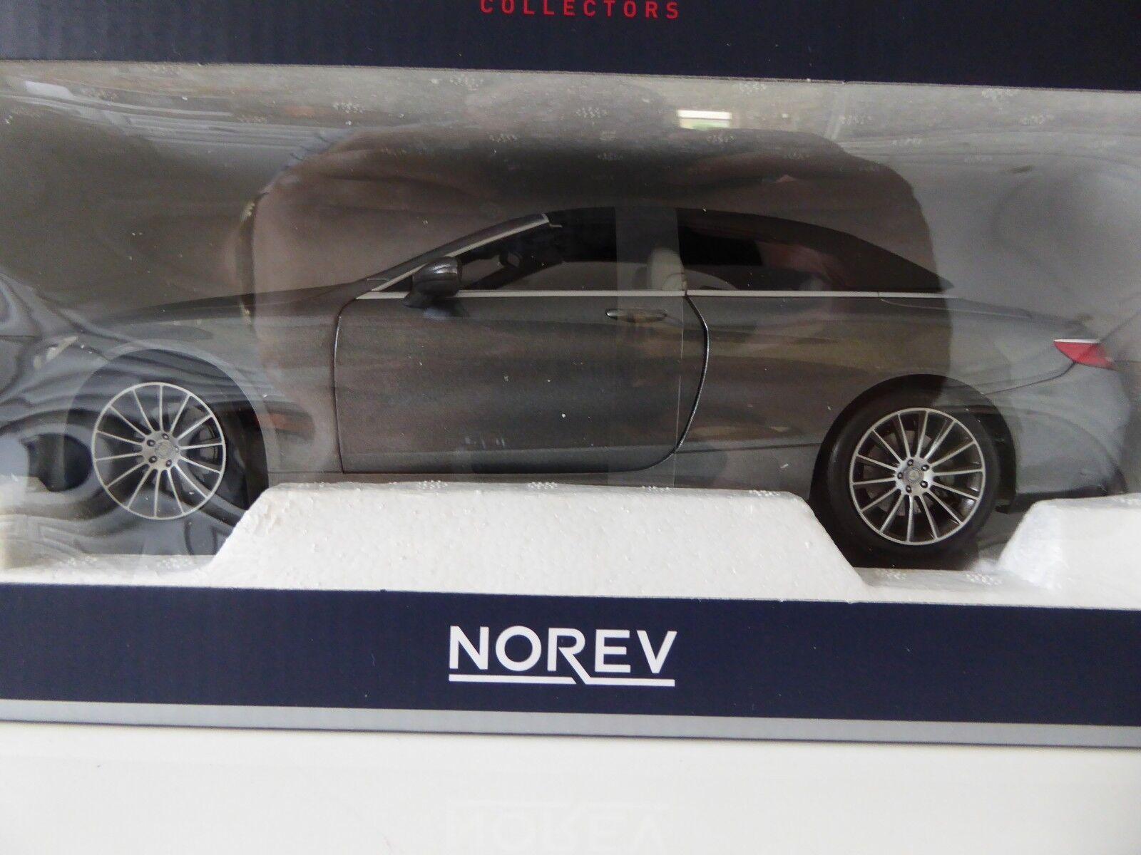 1 18 Norev Mercedes Benz S-Class Congreenible 2015 Grey Metallic 183484
