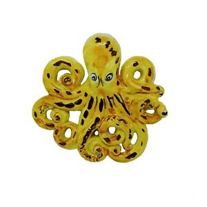 Polpo-Polipo-da-muro-Octopus-Decorativo-Ceramica-Vietri-Artigianale-made-Italy