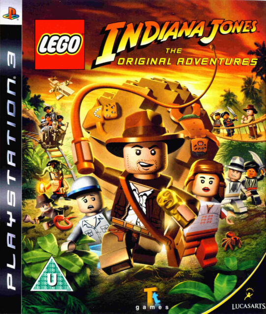 LEGO Indiana Jones: The Original Adventures (Sony PlayStation 3, 2008) PS3 UK