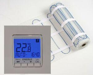 Piastrelle elettrica-Riscaldamento pavimento 20,0 qm & Eberle