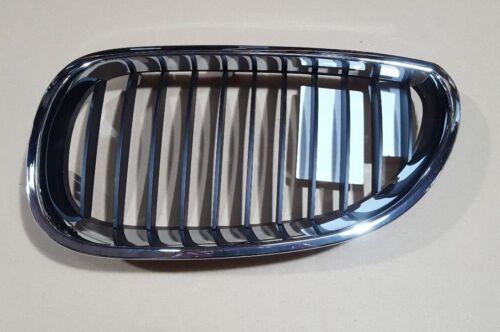 BMW 5 E60 E61 2003-2010 Grille Chrome//Black LH Left Passenger 51137027061