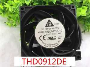 1pc-Delta-THD0912DE-car-cooling-fan-90-38mm-12V-4pin