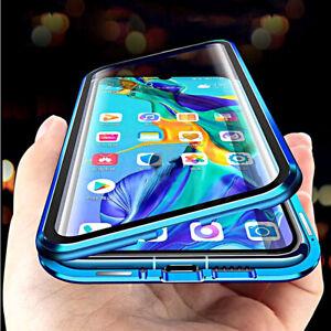 COVER per Xiaomi Mi 11 Lite FRONTE RETRO MAGNETICA 360° DOPPIO VETRO TEMPERATO