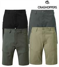 Craghopper Mens Kiwi Pro Stretch Casual Walking Short Travel Outdoor Zip Pockets