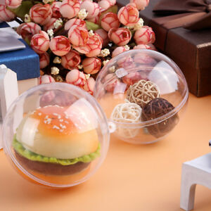 20PCS-Clear-Ball-Baubles-Sphere-Fillable-Christmas-Tree-80mm-Ornament-Gift-Box
